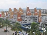 寻洲——下龙湾人造游船码头创越南吉尼斯纪录