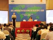 """""""亚太经合组织促进太阳能供应链""""会议在越南河内举行"""
