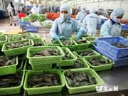 今年上半年越南虾类产品出口创汇近18亿美元