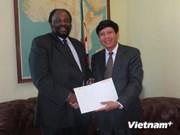 津巴布韦希望促进与越南的合作关系