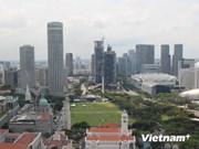 新加坡现代服务业促经济发展