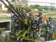 越南防空空军部队发扬首战告捷传统