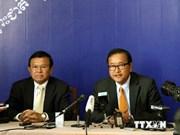 柬埔寨反对党救国党55名议员宣誓加入国会