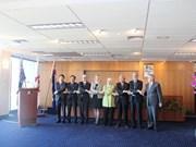 东盟会旗升旗仪式在澳大利亚举行