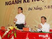 越南政府总理阮晋勇出席2014年计划与投资行业全国会议