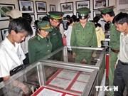 """越南广义省举行题为""""神圣的祖国家乡海洋海岛""""的图书陈列艺术造型比赛"""