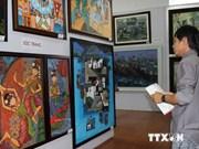 越南九龙江三角洲第19次美术展拉开序幕
