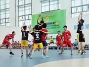 2014年第三次越南全国青年手球德越杯赛拉开战幕