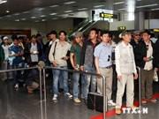 越南劳动者撤离利比亚专机疏散计划结束
