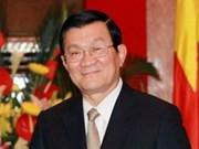 国家主席张晋创出席2014年越南红十字会合作伙伴会议