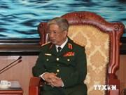 阮志咏上将会见以色列国防参赞