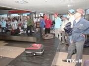 在利比亚的887名越南劳动者已安全回国