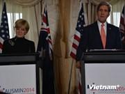 美国和澳大利亚反对改变东海和东中国海现状的单方行为