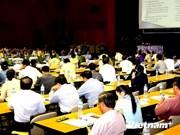 越老分享东盟议会联盟大会举办经验