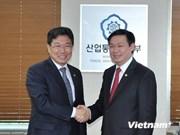 越南和韩国将于2014年年底签署自由贸易协定