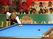 第三次国际三库开伦台球赛落户越南平阳省