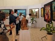 2014年第19届越南中北部美术展会拉开序幕