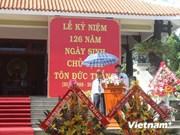越南龙川市举行典礼 纪念孙德胜主席诞辰126周年