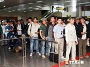 近1400名越南劳动者撤离利比亚安全回国