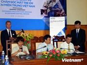 国际奥比斯组织协助越南发展儿童眼睛护理服务