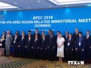 越南出席亚太经合组织第四届海洋部长会议