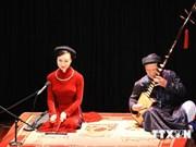 被列入非物质文化遗产名录5年后的越南筹曲