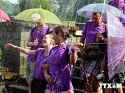 九•二越南国庆节期间游客涌入大叻市