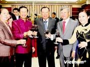 越南驻老挝和新加坡大使馆举行招待宴会 庆祝九·二国庆节