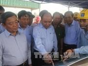 越南政府副总理阮春福莅临河静省调研
