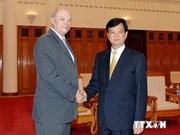 越南政府总理会见古巴外贸和外资部长