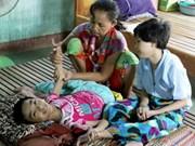 越南党和国家一向关注扶持橙毒剂受害者