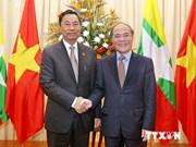 越南与缅甸加强合作 推动东盟合作机制配合