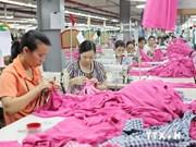 2014年前8个月越南成衣纺织品出口总额达136.5亿美元