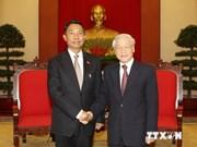 越共中央总书记阮富仲会见缅甸联邦议会人民院议长吴瑞曼