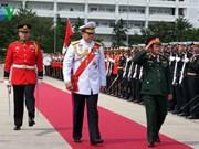 泰国授予越南杜伯巳上将皇家佩星侠士勋章