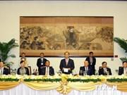 缅甸议会议长吴瑞曼圆满结束对越南的正式访问