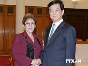 越南政府总理阮晋勇会见古巴食品工业部部长
