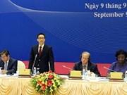 越南政府副总理武德儋出席2030年越南报告第一次会议