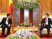 越南政府副总理武德儋会见国际档案理事会代表团