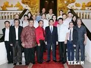 越南政府副总理会见东盟新闻工作者代表团