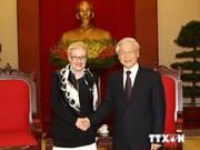 越共中央总书记阮富仲会见澳大利亚众议院议长