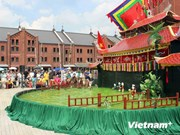 日本观众被越南水上木偶戏深深吸引