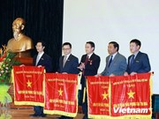 越南通讯社面向成立70周年纪念日:启动竞赛运动