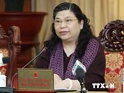越南国会副主席丛氏放会见出席AIPA35的各国代表团团长
