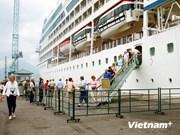 越南真云港共接待3.4万名邮轮游客前来参观顺化古都