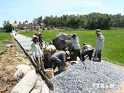 越南胡志明市投资2450万美元用于防止潮汛与发展农村交通