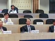 越南政府副总理武文宁与哈佛大学学者举行座谈会