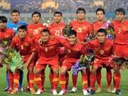越南足球队下跌3位排名世界第142位