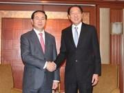 越南公安部同新加坡内政部举行高层会谈