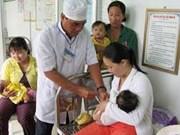 越南努力做好麻疹风疹疫苗免疫接种工作